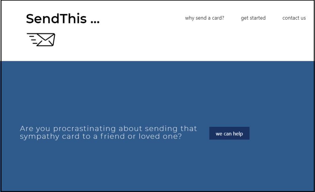 Send This Homepage image